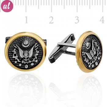 Ottoman Empire Sign Cufflink
