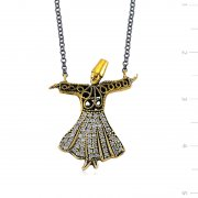 Authentic Whirling Dervish Necklace