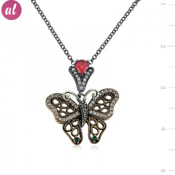 Authentic Butterfly Necklace