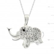 Swarovski Stone Elephant Necklace