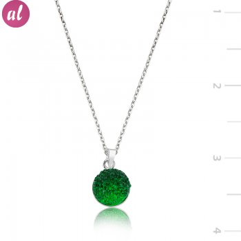 Swarovski Stone Green Necklace
