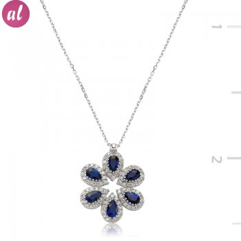 Drop Shapedlı Star Necklace