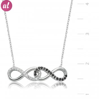 Sen Ben Eternity Silver Necklace