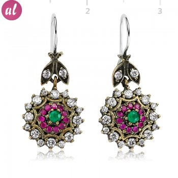 Zircon Stone Authentic Earring