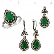 Emerald Stone Authentic Collection
