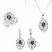 Zircon Oval Stone Collection