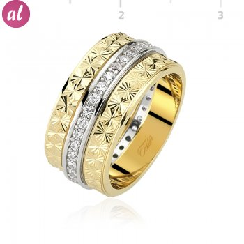 Gold Plated Womens Wedding Ring