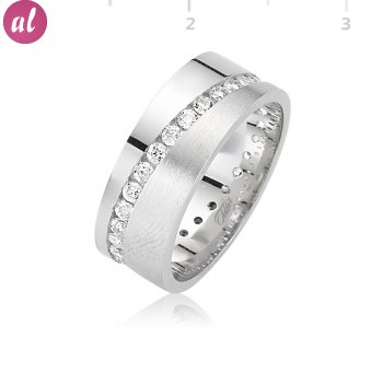 Rhodium Wedding Ring