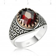 Stone Silver Ring