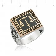 Silver Justice Ring